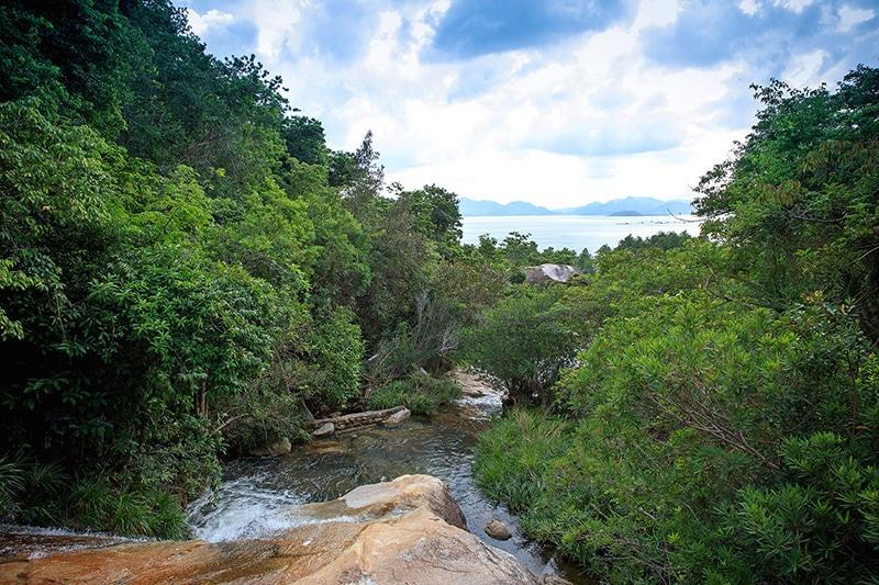 Hiking Trail To An Lam Stream